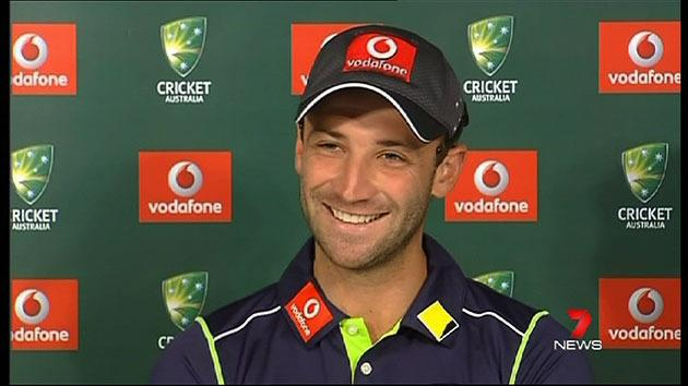 Hughes ready for Test match