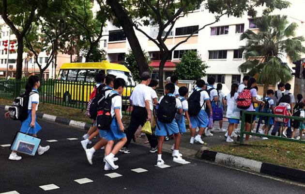More often than not, students cannot wait for the next school holiday (Yahoo! file photo)