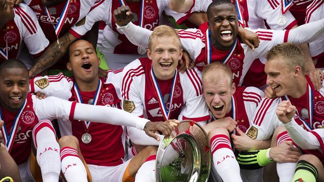 European Football - Ajax Amsterdam clinch fourth successive Dutch title