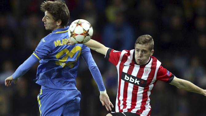 Resumen: BATE 2-1 ATHLETIC / CHAMPIONS (JORNADA 2)