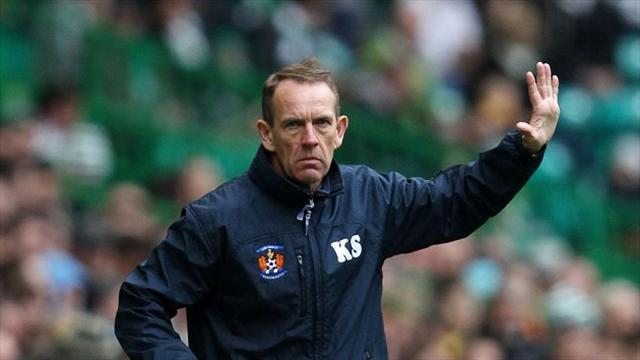 Football - Shiels shrugs off Killie boo-boys