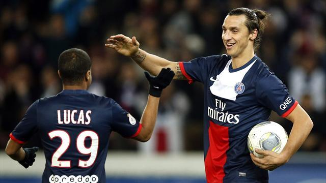 Ligue 1 - Ibrahimovic hat-trick keeps PSG clear
