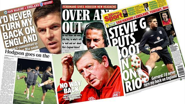 World Cup - Paper Round: No mourners for death of Rio's career