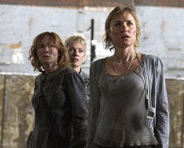 Tanya Allen , Laurie Holden and Radha Mitchell in TriStar Pictures' Silent Hill