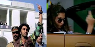 Bollywood Shows the Middle Finger