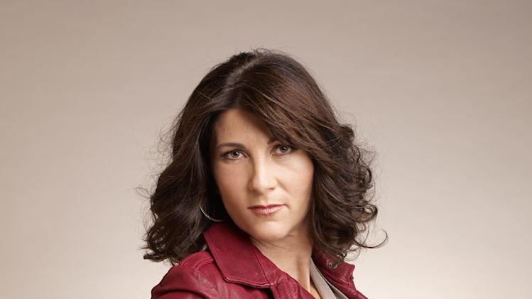 "Eve Best as Dr. O'Hara in ""Nurse Jackie."""