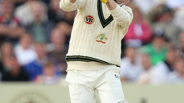 Michael Clarke scored his 22nd Test one hundred for Australia