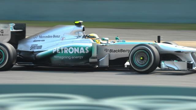 Formula 1 - Hamilton claims pole, Red Bulls off pace