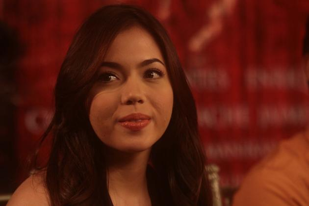 """The Strangers"" press conference - Julia Montes"