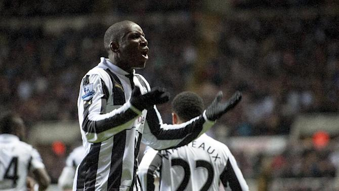 Alan Pardew remains confident Demba Ba, pictured, will stay at Newcastle