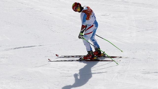 Alpine Skiing - Hirscher, fourth again, suffers Olympic jinx