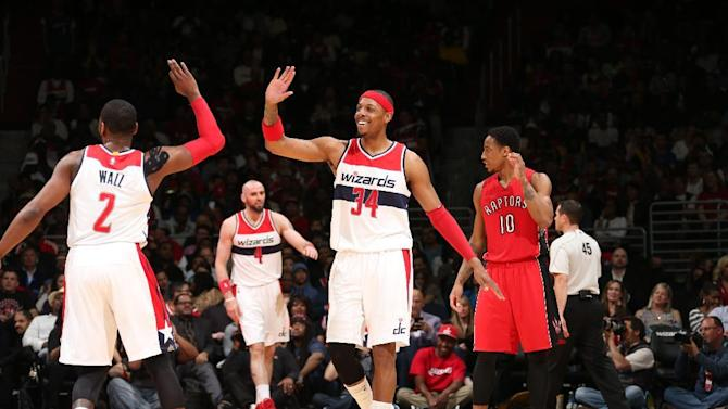 Wall, Beal lead Wiz past Raptors 125-94 in Game 4 for sweep