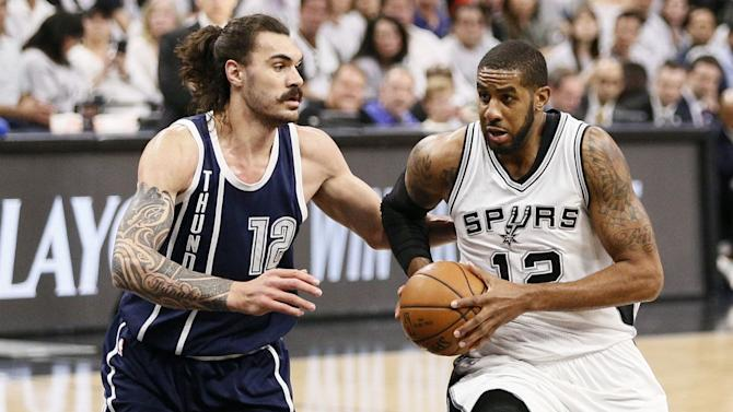 NBA Saturday: Spurs host Thunder to start the Western conference semifinals