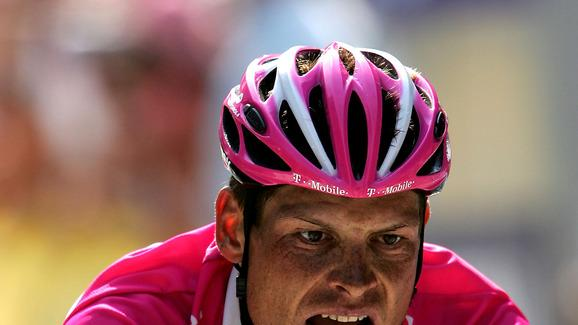 Jan Ullrich Of Germany Riding For The T-Mobile Cycling Team Crosses Getty Images