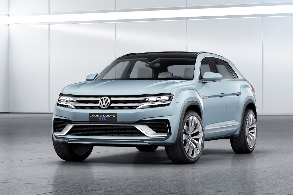 Volkswagen Cross Coupe GTE Concept Preview