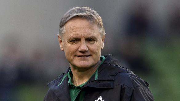 Ireland's head coach Joe Schmidt prior to the Six Nations international rugby union match between Ireland and France at the Aviva  Stadium in Dublin, on February 14, 2015