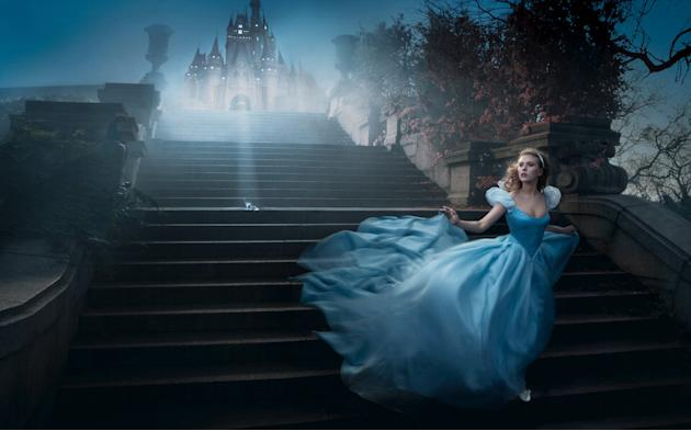 Disney Dreams: Scarlett Johansson as Cindarella
