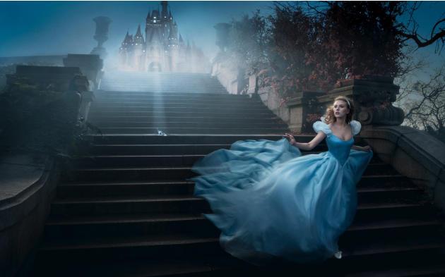Disney Dreams: Scarlett Johansson as Cindarella