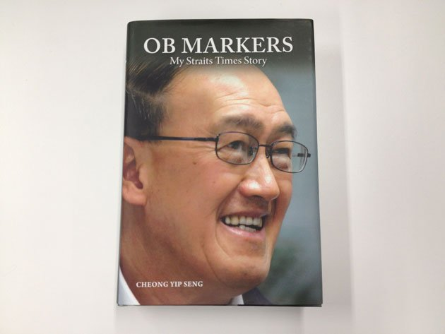 """Cheong Yip Seng has written a book on the """"outbound markers"""" in Singapore. (Yahoo! photo of book cover)"""