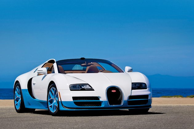 Bugatti unveiled a one-off edition of the fastest convertible in the world (SWNS)