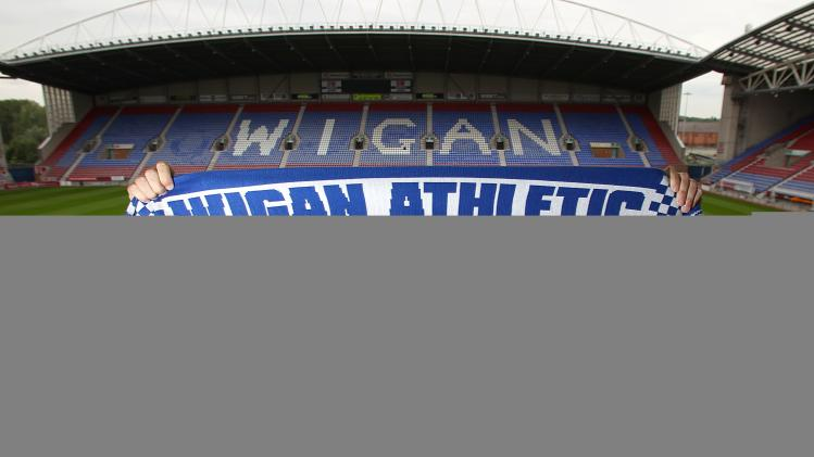 Soccer - Wigan Athletic Press Conference - DW Stadium