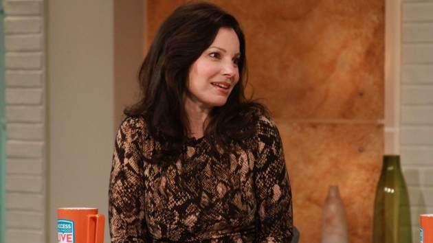 Fran Drescher stops by Access Hollywood on February 13, 2012 -- Access Hollywood