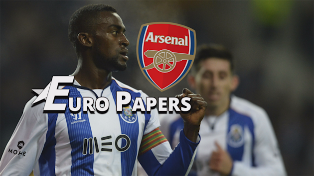 Arsenal negotiating £25 million Jackson Martinez fee - Euro Papers