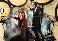The Hobbit: Desolation of Smaug Annual: Legolas and Tauriel together