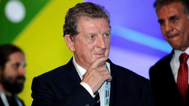 World Cup - Hodgson seeks balance in Brazil