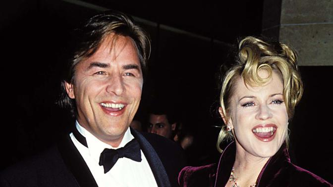 Melanie Griffith, Don Johnson