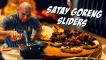Satay Goreng Sliders With Achar Slaw Recipe
