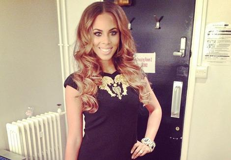 Rochelle Humes is in the 'Strictly Come Dancing Christmas Special' line-up. Copyright: Rochelle Humes Instagram