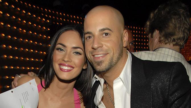 Actress Megan Fox and Singer Chris Daughtry backstage at the 2007 MTV Video Music Awards at The Palms.
