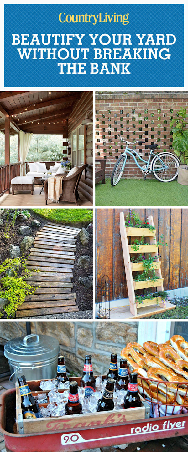 50 Ideas That Will Beautify Your Yard Without Breaking