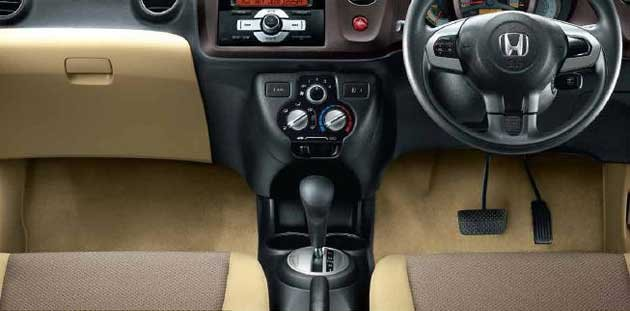 your finder  road test and review  honda brio automatic