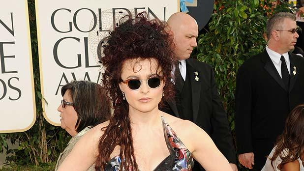 Helena Bonham Carter Golden Globe Awards