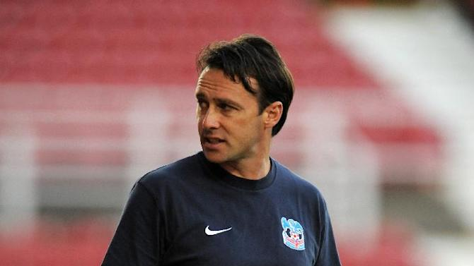 Bolton have made an official approach for Dougie Freedman, pictured, according to caretaker manager Jimmy Phillips