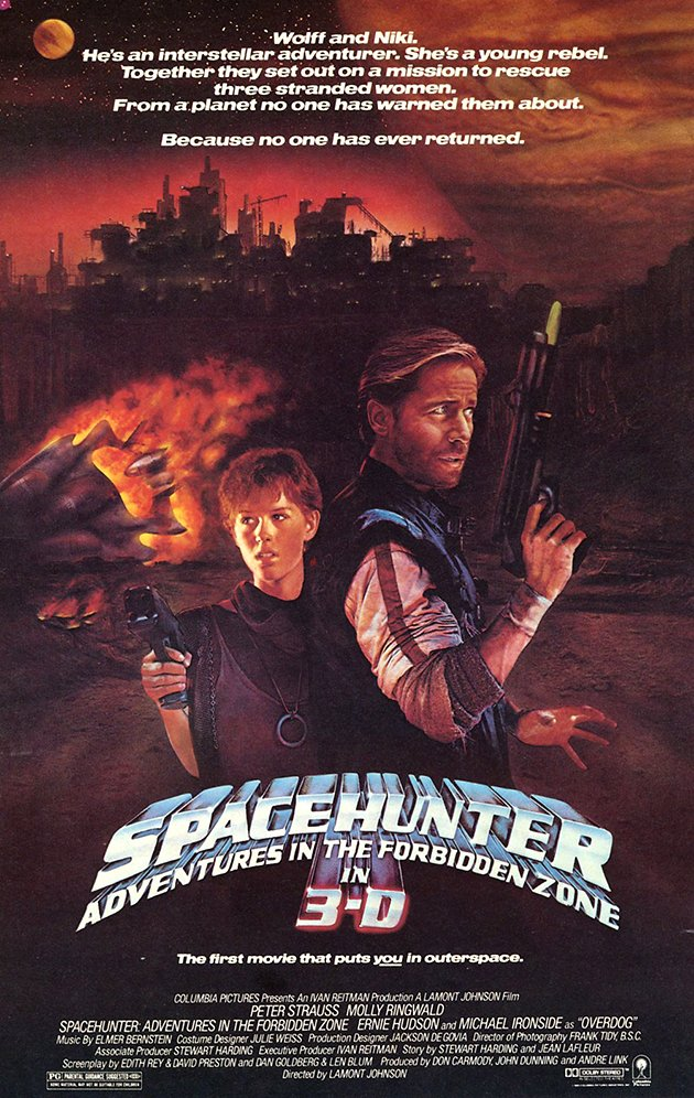 'Spacehunter' film poster