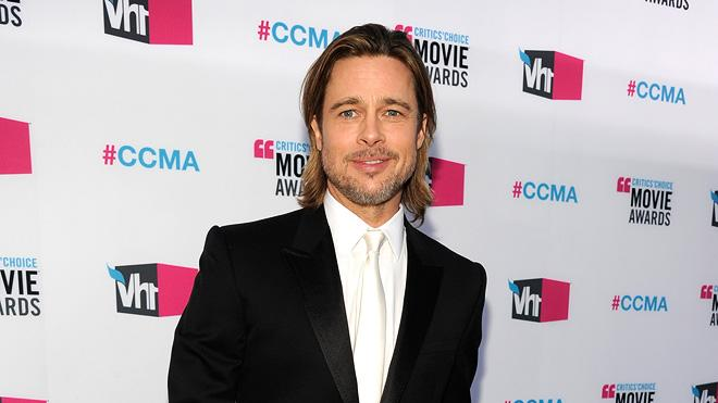 2011 Critics Choice Awards 2012 Brad Pitt