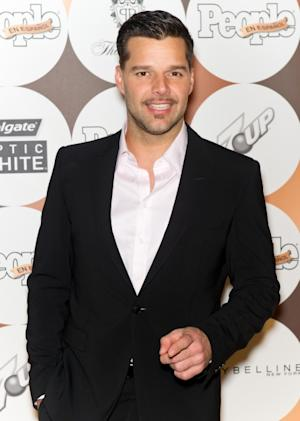 Ricky Martin seen looking dapper at the 16th annual People en Espanol '50 Most Beautiful' issue celebration at The Plaza Hotel in New York City on May 15, 2012 -- Getty Premium