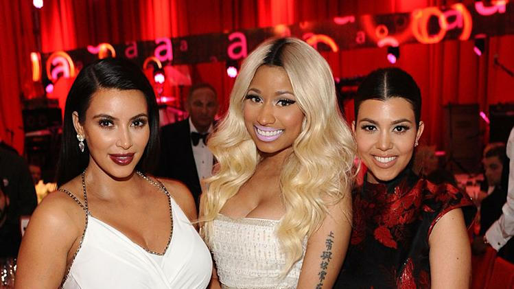 Chopard At 21st Annual Elton John AIDS Foundation Academy Awards Viewing Party: Kim Kardashian, Nicki Minaj and Kourtney Kardashian