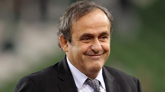 Football - Platini makes plea to FIFA to ban third party owners