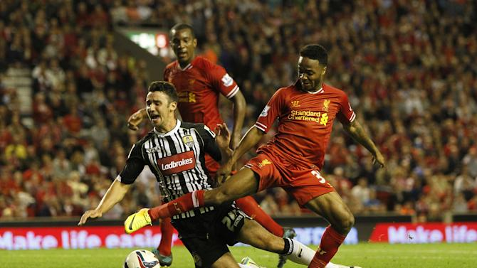 Soccer - Capital One Cup - Second Round - Liverpool v Notts County - Anfield