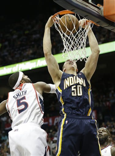 Smith scores 29 to lead Hawks past Pacers 102-91