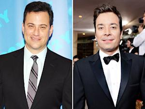 Jimmy Kimmel Sends Congratulations, Lunch to New Tonight Show Host Jimmy Fallon