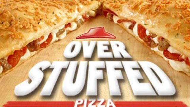 Pizza Hut Introduces Overstuffed Pizza