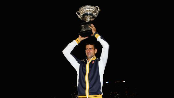Australian Open 2013 - Men's Champion Photocall