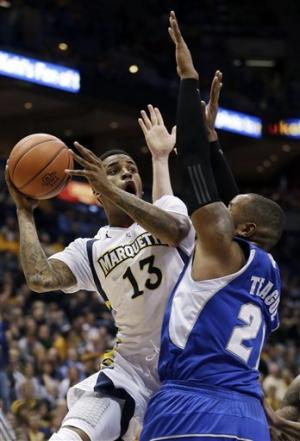 No. 25 Marquette beats Seton Hall 69-62