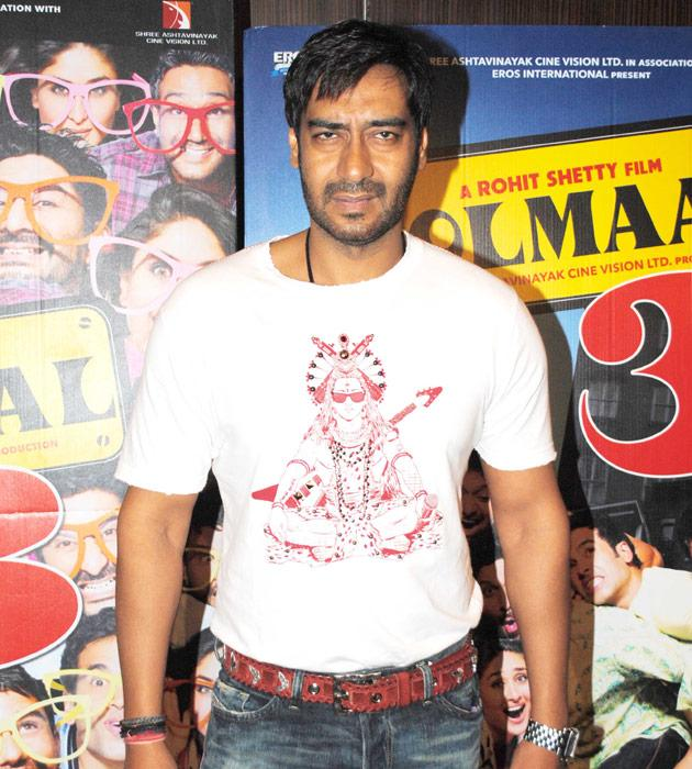 Rare pictures of Ajay Devgn