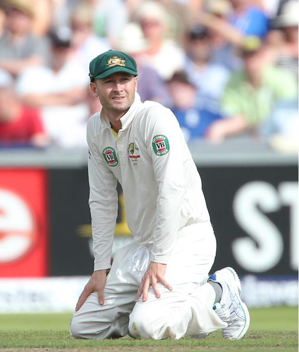 Cricket - Third Investec Ashes Test - Day Two - England v Australia - Old Trafford